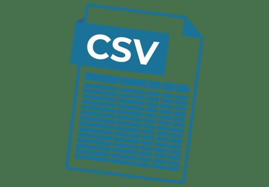 Archivo CSV con todos nuestros productos