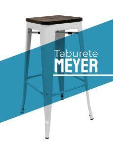 Taburete Industrial Meyer